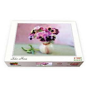 Bộ tranh xếp hình 150 mảnh – Sắc Hoa