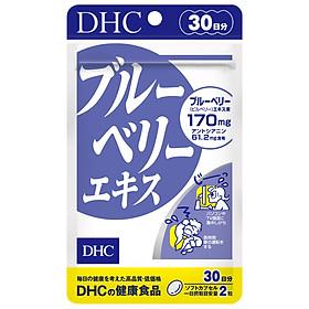 Viên uống bổ mắt việt quất cải thiện thị lực DHC Blueberry Extract (Nhập khẩu)
