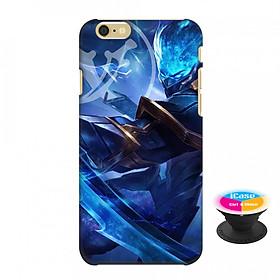 Ốp lưng nhựa dẻo dành cho iPhone 6S in hình Murad Đồ Thần Đao - Tặng Popsocket in logo iCase - Hàng Chính Hãng