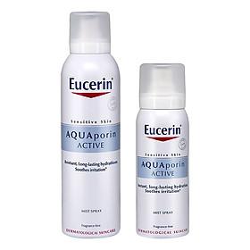 Bộ Xịt Khoáng Chống Lão Hóa Eucerin Aquaporin Active (150ml) Và Xịt Khoáng Chống Lão Hóa Eucerin Aquaporin Active (50ml)