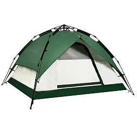 Lều trại du lịch tự bung (màu ngẫu nhiên)