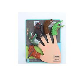 Bộ rối ngón tay công viên kỷ Jura dành giúp kích thích sự sáng tạo cho trẻ