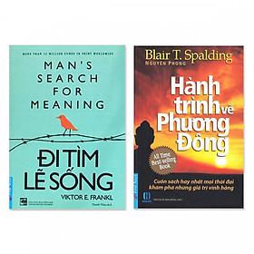 Combo 2 cuốn: Đi tìm lẽ sống, Hành Trình Về Phương Đông ( tái bản )