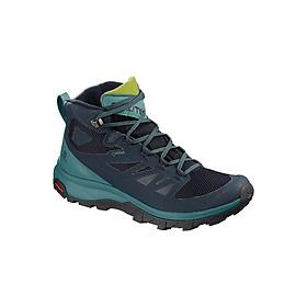 Giày Chạy Bộ Địa Hình OUTline Mid GTX W NAVY BLAZER L40484600