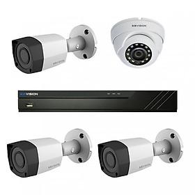 Trọn bộ  camera quan sát KBVISION - Hàng nhập khẩu