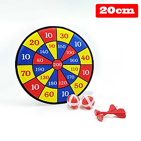 Kids Dart Board Set Colorful Cloth Sticky Throwing Tossing Ball Creative Indoor Outdoor Children's Target Game Toy