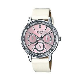 Đồng hồ nữ dây da Casio Standard chính hãng LTP-2087SL-4AVDF