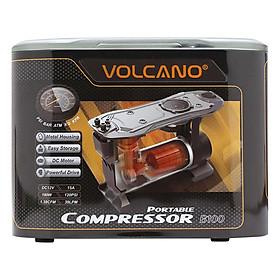Máy Bơm Lốp Ô Tô Volcano B100 (Nâu)
