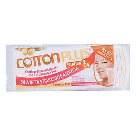 Bông Tẩy Trang Cotton Plus 2 Trong 1 Chiết Xuất Dầu Argan - Vitamin E (60 Miếng)