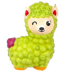 Squishy cừu bông in 3D, squishy chậm tăng mùi thơm dịu nhẹ, đồ chơi cho bé trai và bé gái