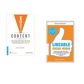 Combo 2 cuốn sách: Inbound Content - Xây Dựng Chiến Lược Nội Dung Theo Phương Thức Inbound + Likeable Social Media-Bí Quyết Làm Hài Lòng Khách Hàng