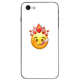 Ốp kính cường lực cho điện thoại iPhone 7 / 8 - emoji kute MS EMJKT023