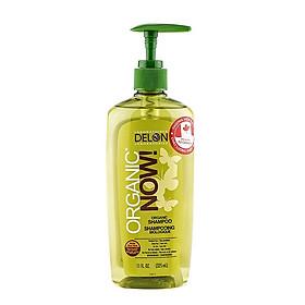 Dầu Gội DELON Organic Now chiết xuất từ nha đam hữu cơ dung tích 325ml - Organic Now Shampoo 325ml