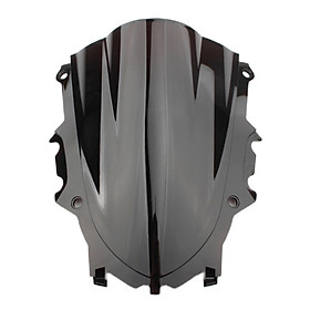 Motorcycle Windshield Windscreen Screen for Yamaha YZF R25 R3,Pre-Drilled Holes,Windproof