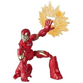 Đồ Chơi Nhân Vật Iron Man Avengers Bend N Flex E7870