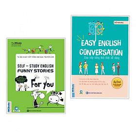 Combo 2 cuốn Tự Học Giao Tiếp Tiếng Anh Qua Truyện Cười+Giao Tiếp Tiếng Anh Thật Dễ Dàng