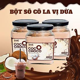 Socola bột dừa pha uống lạnh SHE Chocolate - Bột socola cung cấp năng lượng và dinh dưỡng dành cho mọi lứa tuổi