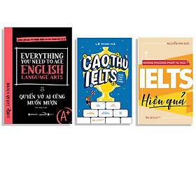 Combo Sách : Everything You Need To Ace English Language Arts - Quyển Vở Ai Cũng Muốn Mượn + Cao Thủ IELTS Đuổi Theo Chín Chấm + Những Phương Pháp Tự Học Ielts Hiệu Quả