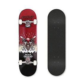 Ván Trượt  Skateboard  Gỗ 1203 trục hợp kim + gỗ ép 3 lớp