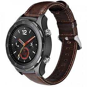 Hình đại diện sản phẩm Dây da Size 20 cho Galaxy Watch 42, Galaxy Watch Active Hoco_Hàng NHập Khẩu