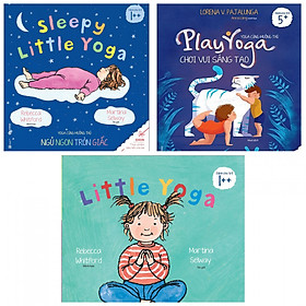 Combo Ehon Yoga Cùng Muôn Thú: Sleepy Little Yoga + Play Yoga + Little Yoga - Tặng Kèm Bookmark