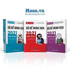 COMBO 3 Sách ID Luyện đề Toán Lý Hóa - Bộ đề trắc nghiệm Moon