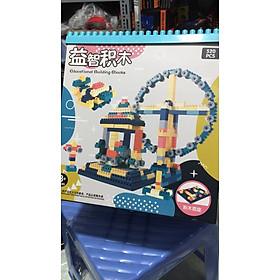 Bộ xếp hình lego 520 chi tiết