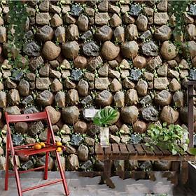 Giấy dán tường gạch đá tự nhiên 3D SA-1015 (45 x 1000 cm)