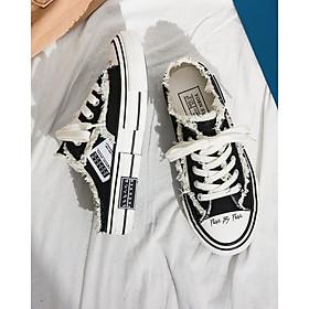 Giày sục nữ Vessell sneaker Style rách cá tính , Hot Trend mới nhất 2020 HAPU
