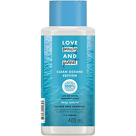 Dầu Gội Love Beauty And Planet Muối Biển Detox (400ml)
