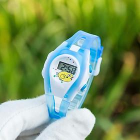 Đồng Hồ Điện Tử Thông Minh Unisex Cực Dễ Thương - Te02 - Dây Đeo Silicone dẻo thảo mái - Thiết Kế Nhân Vật Hoạt Hình Siêu Cute