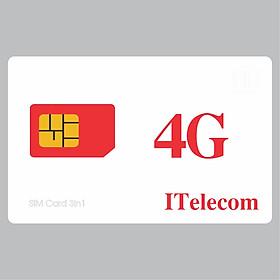 SIM 4G MAY V77 Gồm 90GB/Tháng + 43.000 Phút Gọi Miễn Phí - Chính Hãng - Mẫu ngẫu nhiên