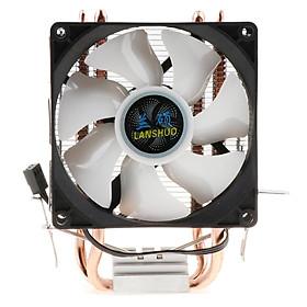 CPU Cooler Heatsink with LED Cooling Fan for Inter LGA 775/1155/1366 etc, AMD
