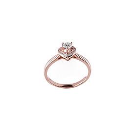 Nhẫn vàng hồng DOJI cao cấp 14K 0819R-LAL426