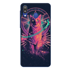 Ốp lưng điện thoại Samsung Galaxy M20 hình Mèo Phép Thuật