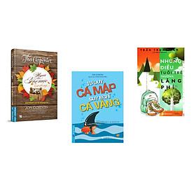 Combo 3 cuốn sách: Người Thợ Mộc Lạ Lùng + Tư Duy Cá Mập - Suy Nghĩ Cá Vàng + Những Điều Tuổi trẻ Thường Lãng phí