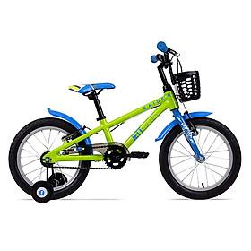 Xe đạp trẻ em 4- 6 tuổi Jett Cycles Raider Khung nhôm 162120 (Màu xanh lá)