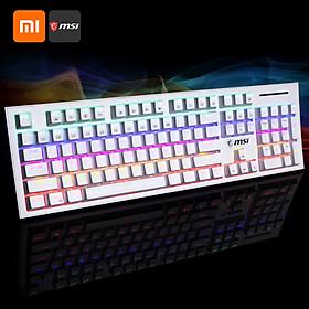 Bàn Phím Chơi Game Cơ Học Xiaomi Youpin Msi Gk50Z Rgb Led Backlit Có Đèn Led