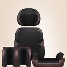 Hình đại diện sản phẩm Ghế Massage toàn thân Le Er Kang tử cổ đến chân thư giãn, trị liệu cơ thể - Hàng cao cấp