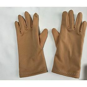 Bao tay găng tay Nữ chất liệu vải cotton chống nắng giữ ấm lái xe,- B03