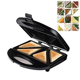 220V Home Multifunction 1000W Electric Mini Grilling Panini Baking Plates Toaster Waffle Maker