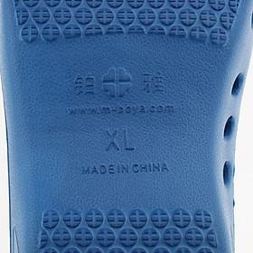 Men Women Beach Garden  Work Slip On Clog Water Shoe EU 36-37 Blue