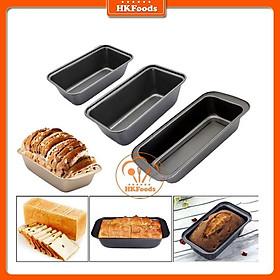 Khuôn Loaf Chữ Nhật Chống Dính Làm Bánh Mì Hoa Cúc 18cm/25cm/29cm