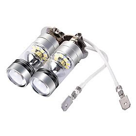 Đèn Pha LED Sương Mù Trên Ô Tô Siêu Sáng H3 (12/24V)