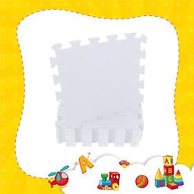 Thảm xốp lót sàn cho bé - đơn màu Pastel (10 miếng, diện tích 1m2) Smile Puzzle _KHÔNG MÙI TIÊU CHUẨN CHÂU ÂU