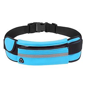 Đai chạy bộ thắt lưng chạy bộ Yesure có ngăn đựng nước và dải phản quang .