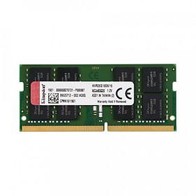 Ram laptop Kingston DDR4 16GB (1x16GB) Bus 2666Mhz SODIMM KVR26S19D8/16 - Hàng Chính Hãng