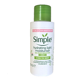 Kem dưỡng Simple Kind To Skin Hydrating Light Moisturizer 50ml