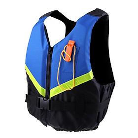 Adjustable Buoyancy Jacket Kayaking Sailing Life Vest w/ Whistle