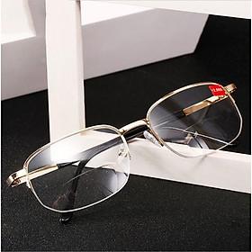Kính viễn thị kính đọc sách hai tròng nhìn xa và gần hàng xịn mắt kính cực trong và sáng KV89